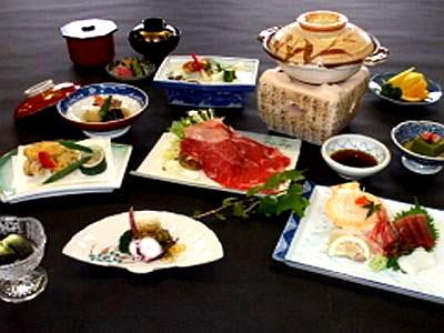 料理一例紀州鉄道熱海ホテルの画像