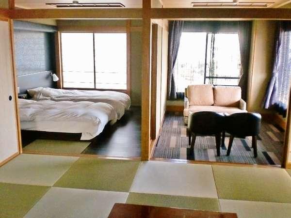 【特別和洋室】ゆったりと寛げる特別室(12.5畳+洋室+広縁付)