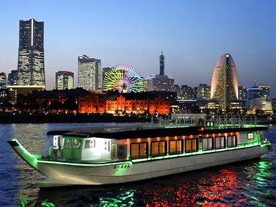 屋形船宴会(横浜)