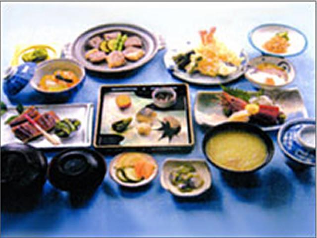 料理一例ホテルニュー魚眠荘の画像