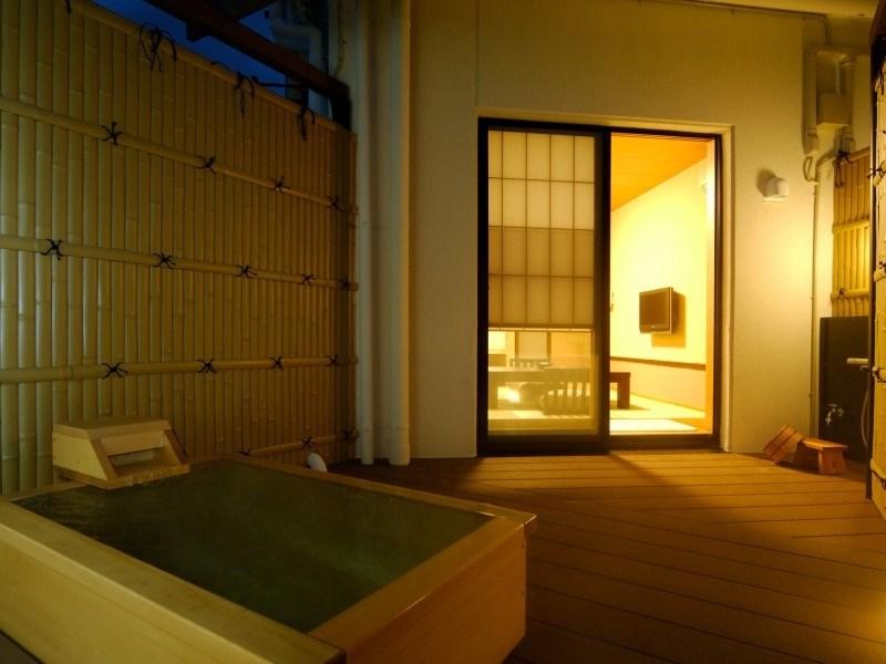 露天風呂付き客室ニュー八景園の画像