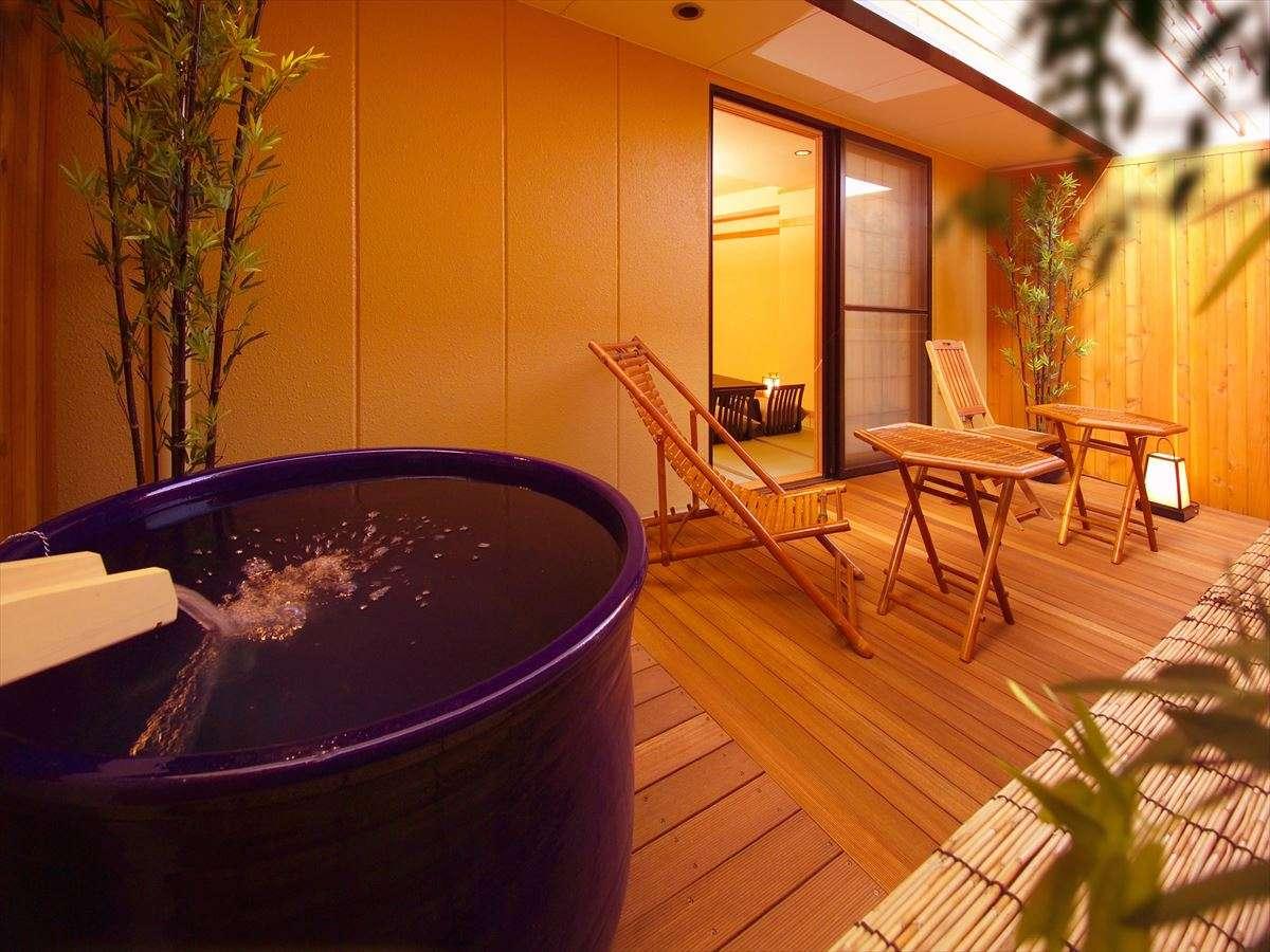 露天風呂付き客室ホテル浜とくの画像