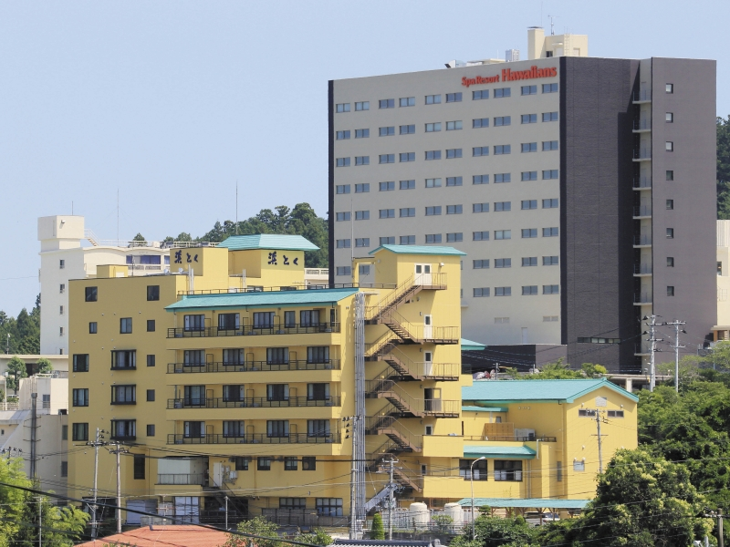 外観ホテル浜とくの画像