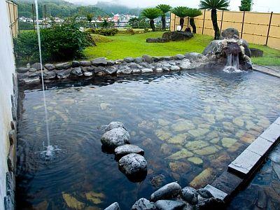 露天風呂ホテル華の荘の画像