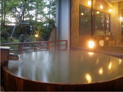 露天風呂ひびき野の画像