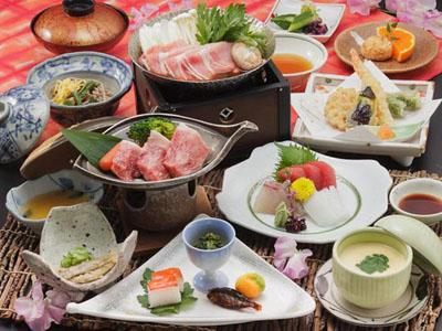料理一例長良川ホテルパークの画像