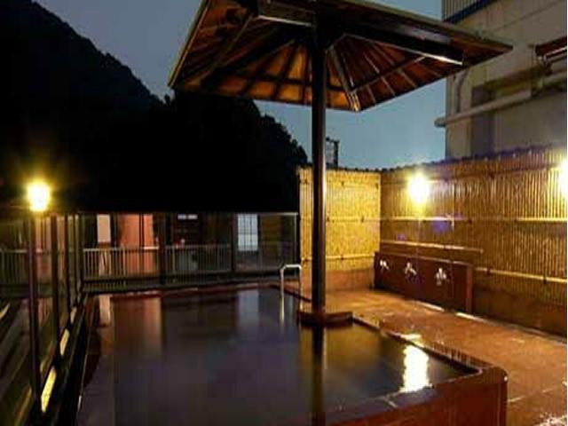 露天風呂長良川ホテルパークの画像