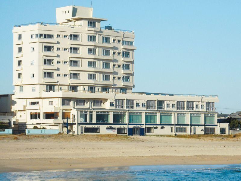 外観海のホテルの画像