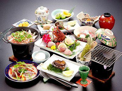 料理一例伊東パレスホテルの画像