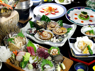 料理一例ホテルマリテーム海幸園の画像