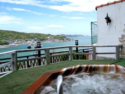 露天風呂ホテルマリテーム海幸園の画像