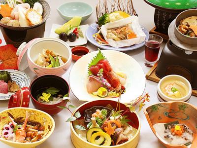 料理一例ホテル亀屋の画像