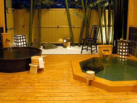 貸切露天風呂ホテルラヴィエ川良の画像