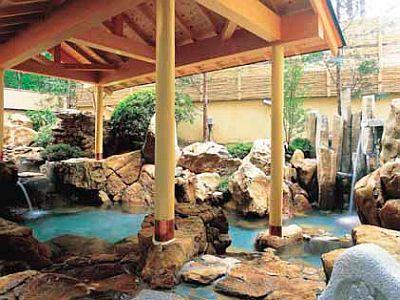 露天風呂緑翠亭 景水の画像