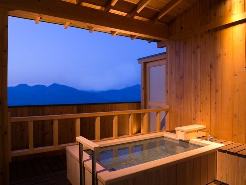 露天風呂付き客室ホテルきむらの画像