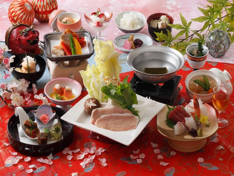 料理一例鬼怒川御苑の画像