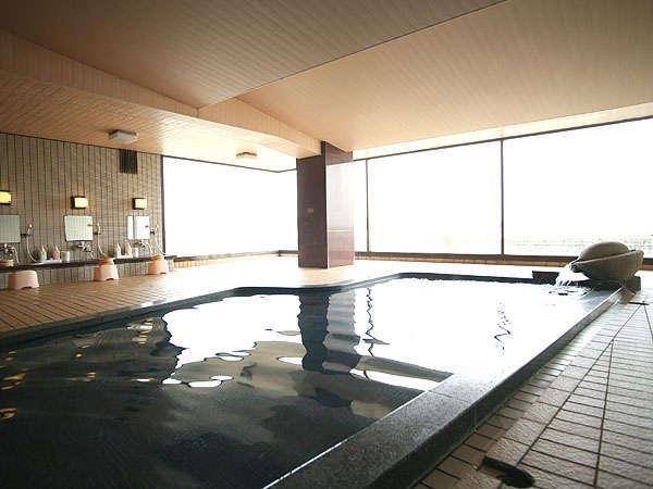 温泉は、無色透明の塩化物泉ですホテル古賀乃井の画像