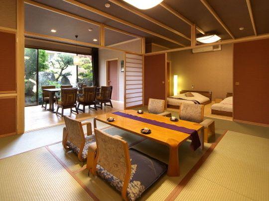 露天風呂付き客室銘庭の宿ホテル甲子園の画像