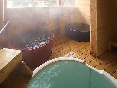 露天風呂向瀧の画像