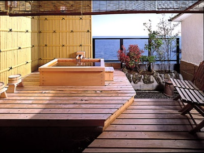 露天風呂付部屋 10800円