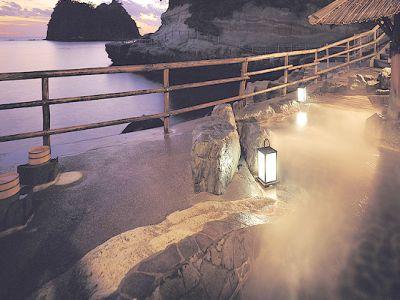 露天風呂海辺のかくれ湯 清流の画像