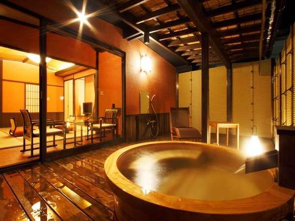 露天風呂付き客室すみよし館の画像