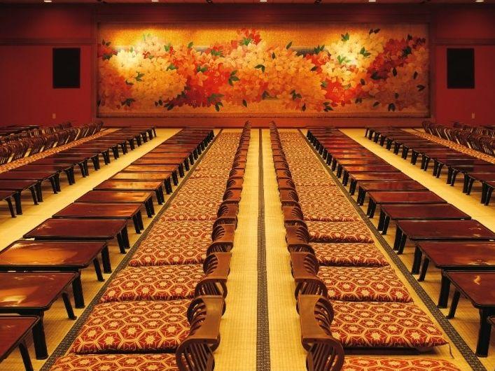 大宴会場サンシャイン鬼怒川の画像