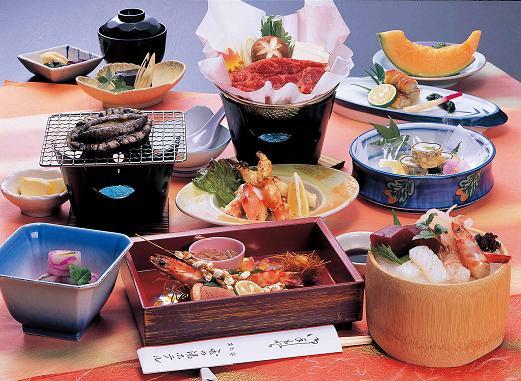 料理一例玉の湯ホテルの画像